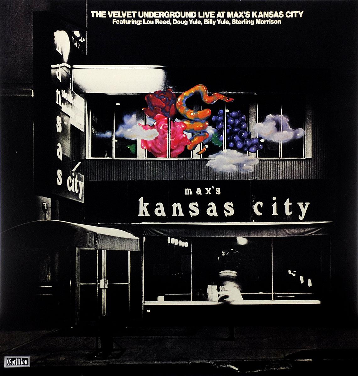 The Velvet Underground The Velvet Underground. Live At Max's Kansas City (2 LP) striped side velvet pants