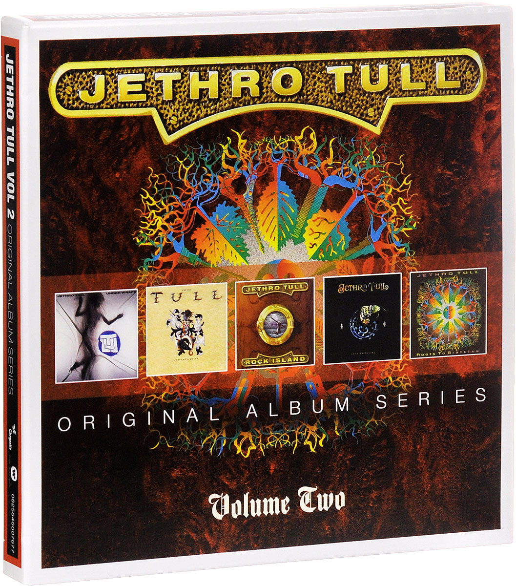 Jethro Tull Jethro Tull. Original Album Series. Vol.2 (5 CD) jethro tull jethro tull too old to rock n roll too young to die the tv special edition 2 cd 2 dvd