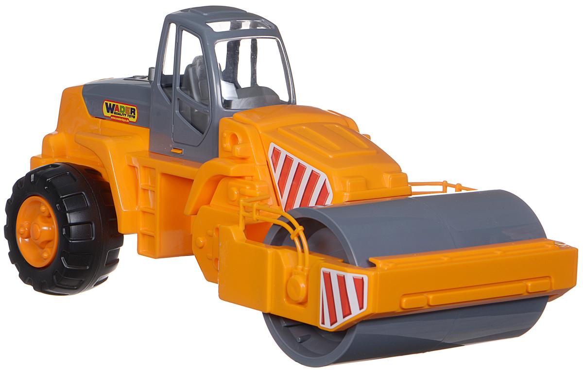 Полесье Каток дорожный, цвет в ассортименте машина игрушечная с аксессуарами полесье volvo дорожный каток
