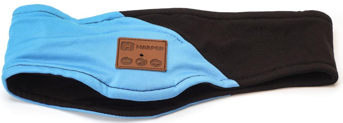 лучшая цена Harper HB-500, Black спортивная повязка с Bluetooth-гарнитурой