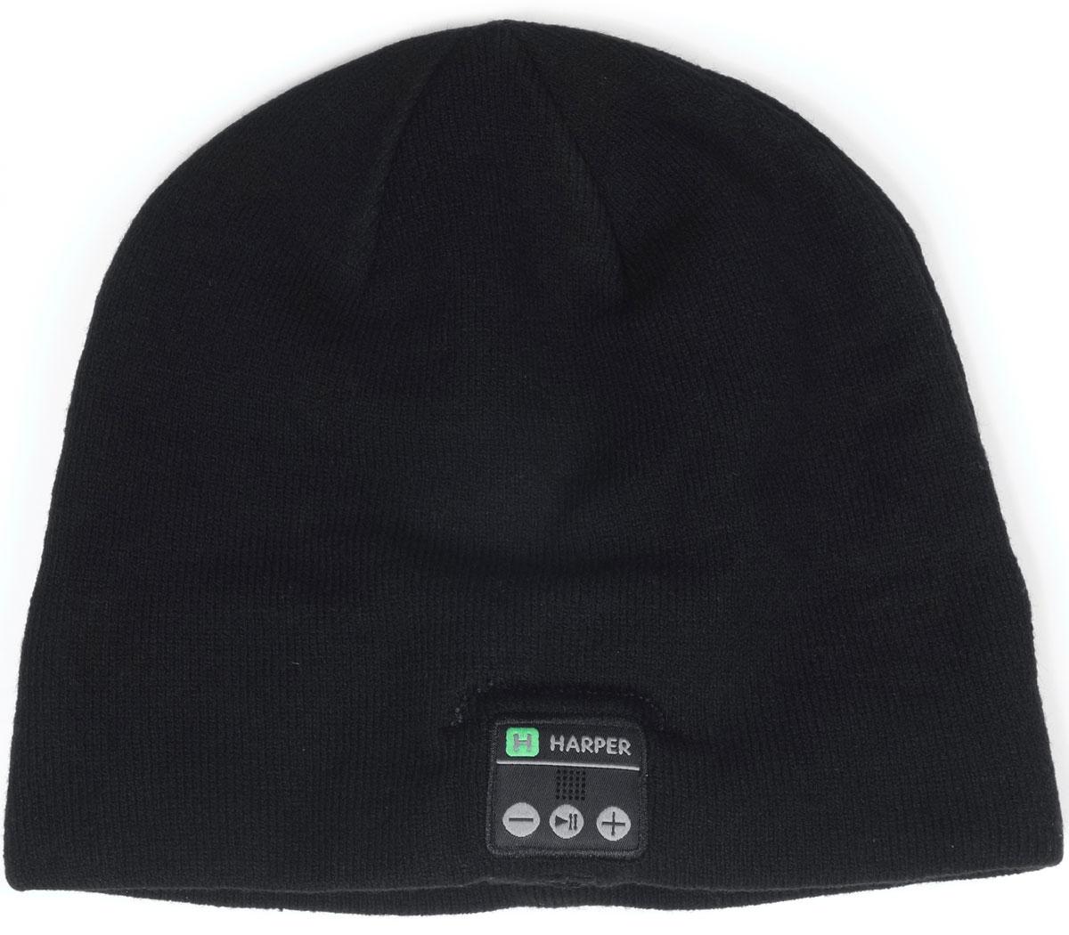 Harper HB-505, Black шапка с Bluetooth-гарнитурой