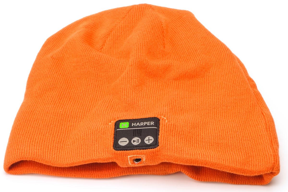 Harper HB-505, Orange шапка с Bluetooth-гарнитурой