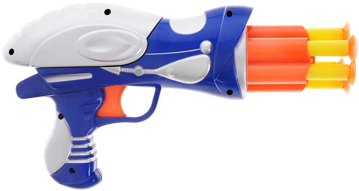 Пистолет игрушечный Dream Makers WG102613 синий, серебристый, оранжевый