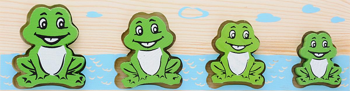 Пазл для малышей Томик Доска-вкладыш Лягушка БМ mapacha пазл для малышей вкладыши формы и цвета