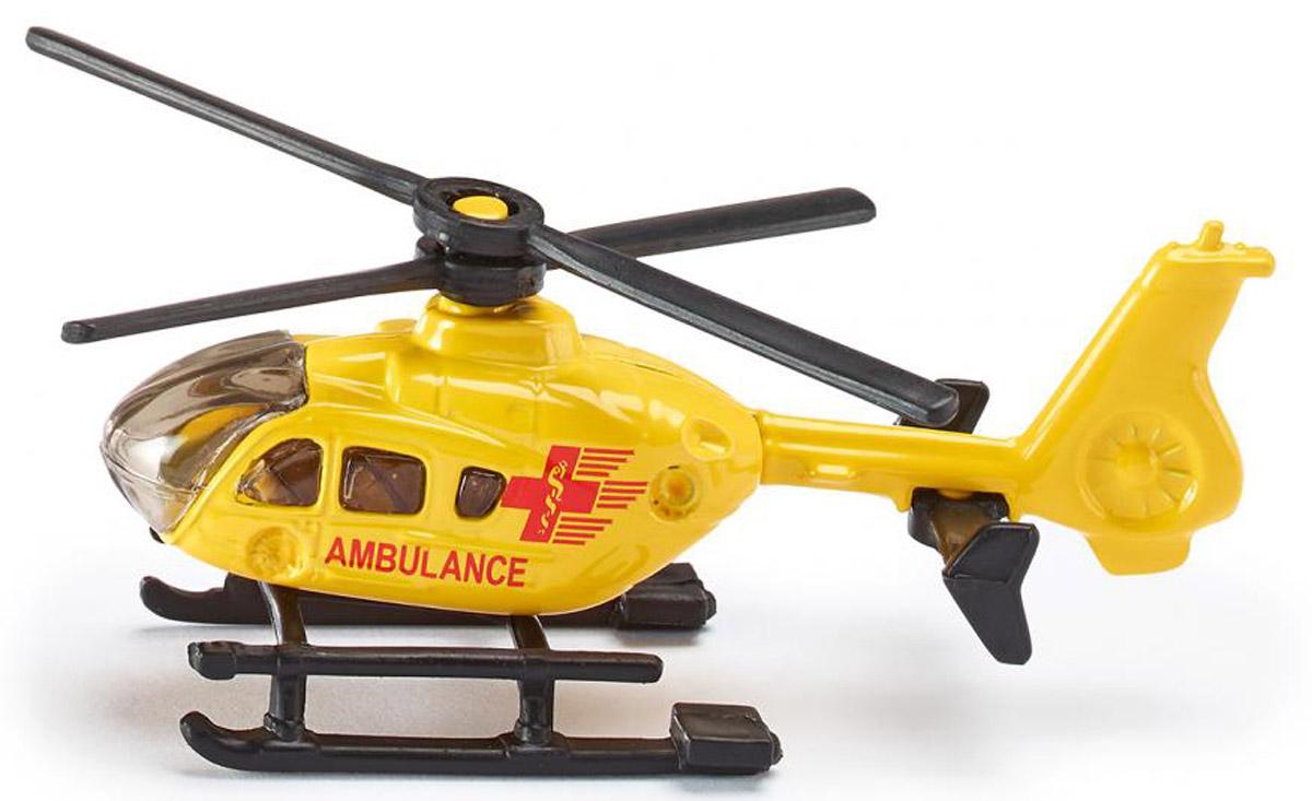 Фото - Siku Вертолет Ambulance игрушка siku вертолет 8 1 6 7 3 1см 0856
