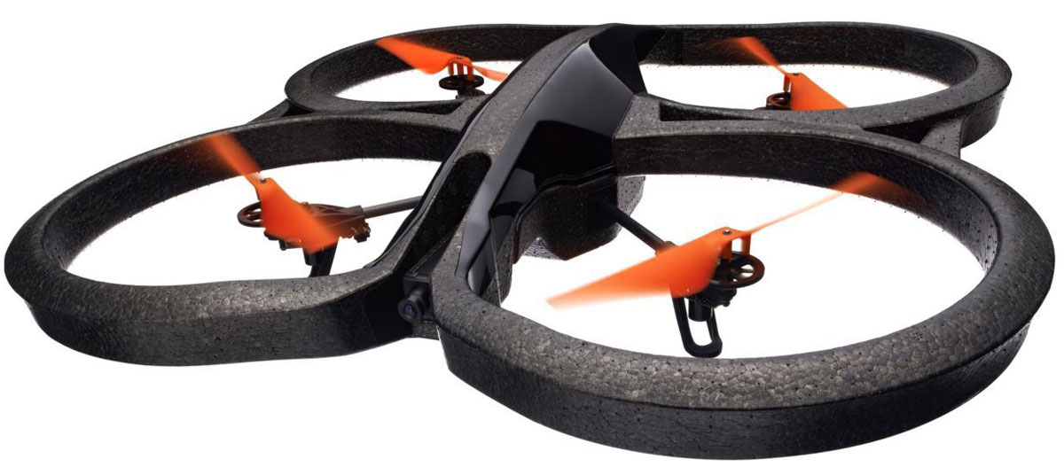 Фото - Parrot Квадрокоптер на радиоуправлении AR.Drone 2.0 Power Edition Area 2 видео