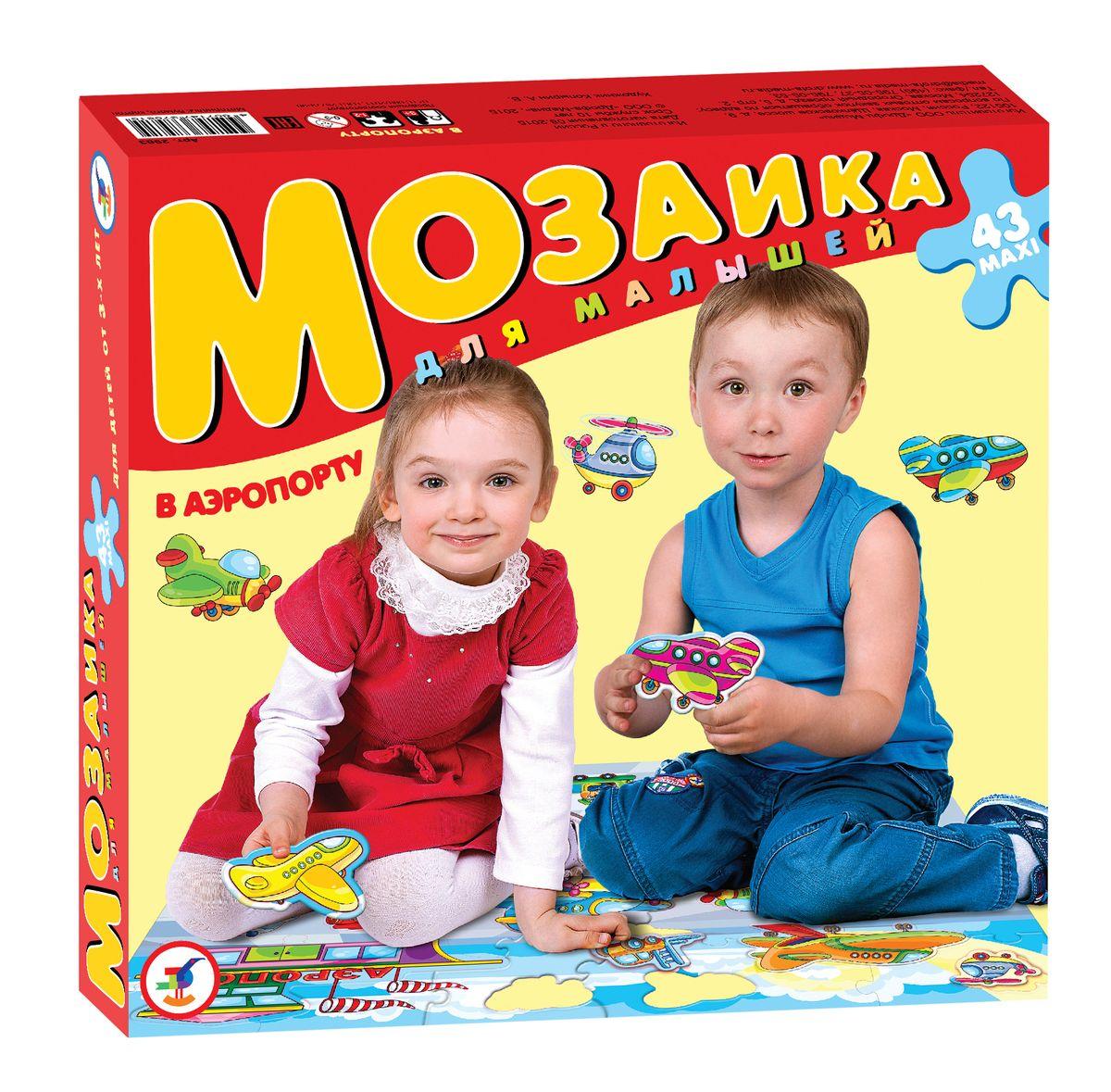 Дрофа-Медиа Пазл для малышей В аэропорту дрофа медиа пазл слоненок