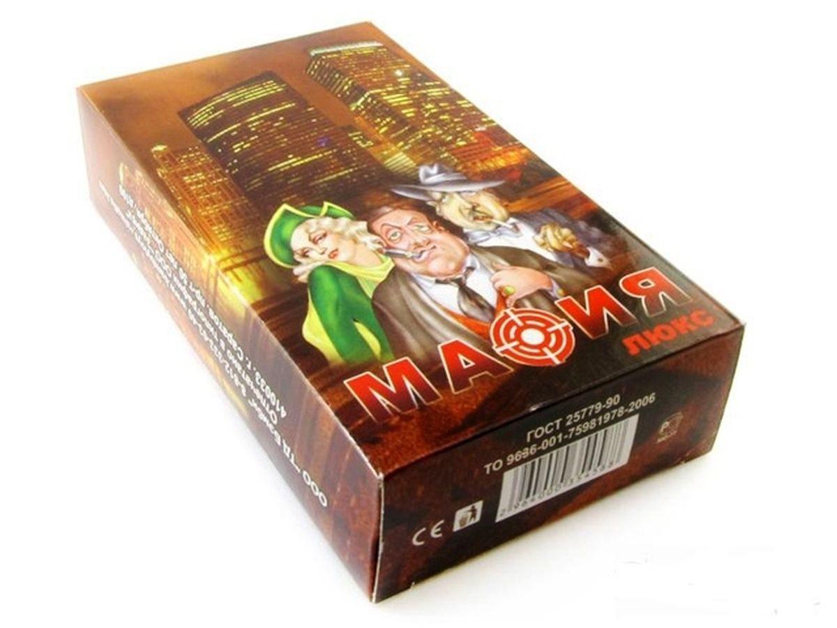 Нескучные игры Настольная игра Карты игральные Мафия Люкс настольные игры мировые хиты мафия карты игральные 17 карт