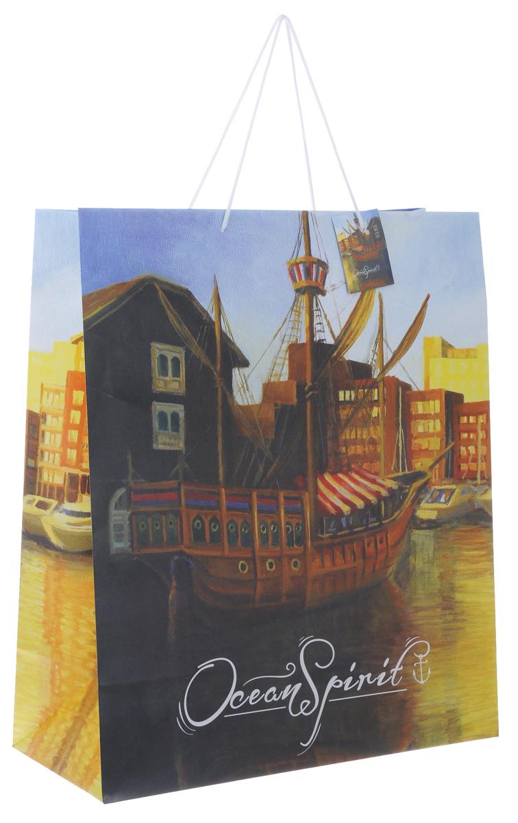 Пакет подарочный Феникс-Презент Генуя, 40,6 х 19 х 48,9 см пакет подарочный феникс презент каток 26 х 33 х 13 см