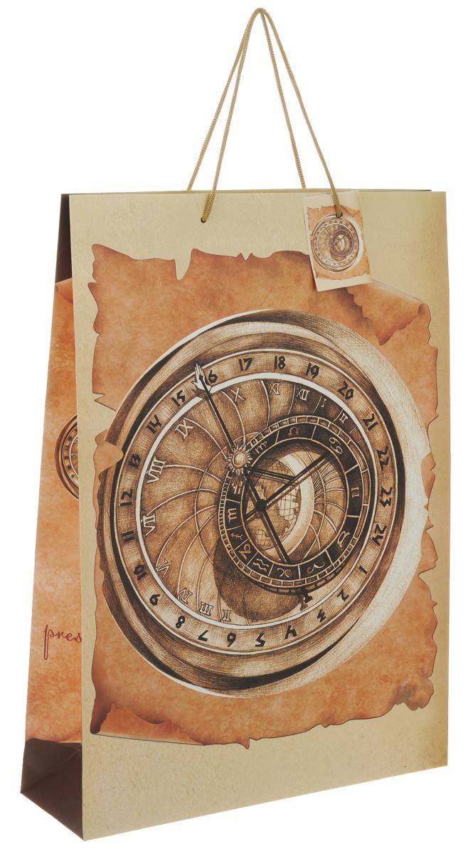 Пакет подарочный Феникс-Презент Компас, 33 х 10,2 х 45,7 см пакет подарочный феникс презент каток 26 х 33 х 13 см