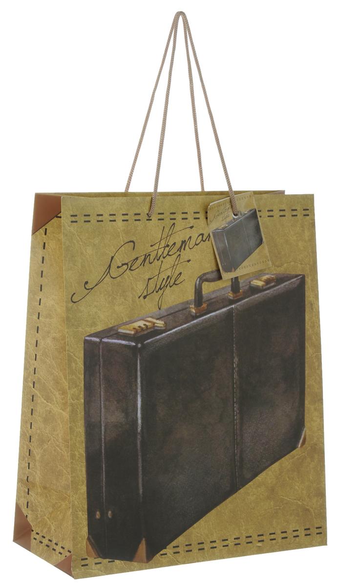 Пакет подарочный Феникс-Презент Дипломат, 26 х 12,7 х 32,4 см пакет подарочный феникс презент каток 26 х 33 х 13 см
