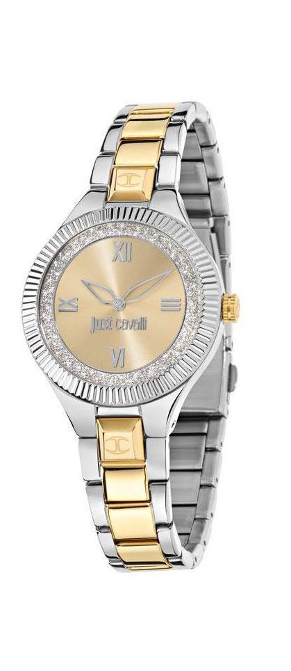 Часы наручные женские Just Cavalli Just indie, цвет: серебристый, золото. R7253215506 цена 2017