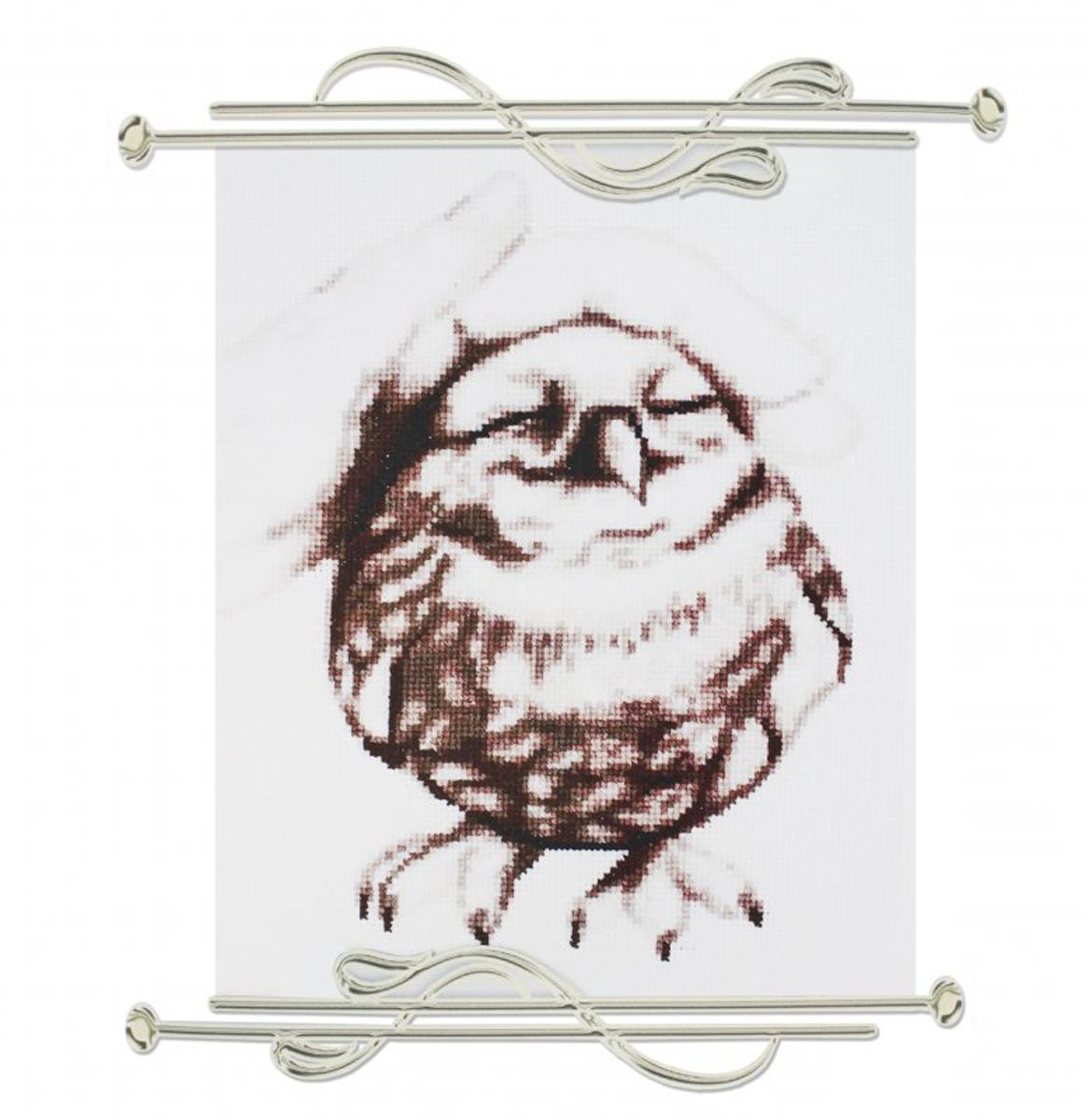 Набор для вышивания крестом Alisena Птенчик счастья, 16 х 20 см7714193Набор для вышивания крестом Alisena Птенчик счастья поможет вам создать свой личный шедевр - красивую картину, вышитую в технике счетный крест. Вышивание отвлечет вас от повседневных забот и превратится в увлекательное занятие! В набор входит: - канва Aida Zweigart (100% хлопок), - цветная схема, - нитки-мулине Anchor (13 цветов), - игла, - инструкция на русском языке.