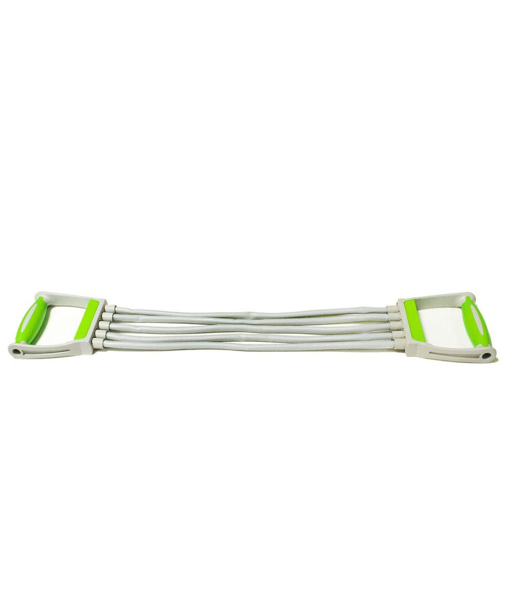 Эспандер плечевой Star Fit ES-102, 5 струн, цвет: зеленый эспандер 50 кг star fit power twister es 702 черный