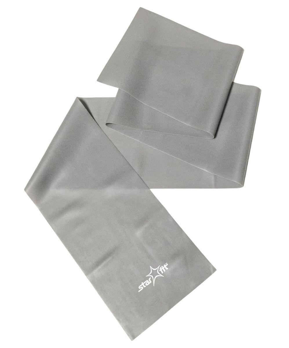 "Эспандер ленточный Starfit ""ES-201"", цвет: серый, 1200 х 150 х 0,55 мм"