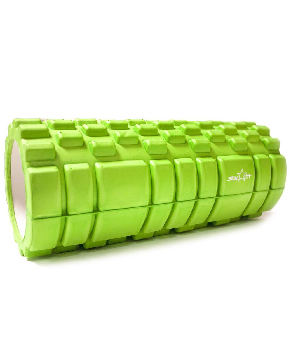 Ролик массажный Star Fit, цвет: зеленый. FA-503 ролик массажный torneo электрический