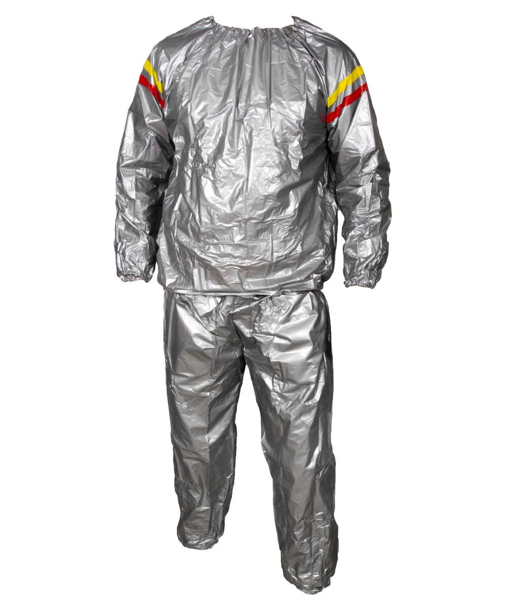 Костюм-сауна Starfit SW-101, цвет: серый. Размер M бриджи сауна starfit sw 301 цвет серый размер l