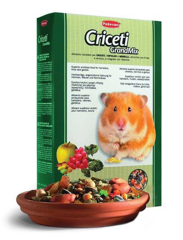 """Корм Padovan """"Grandmix Criceti"""" для хомяков и мышей, 1 кг"""