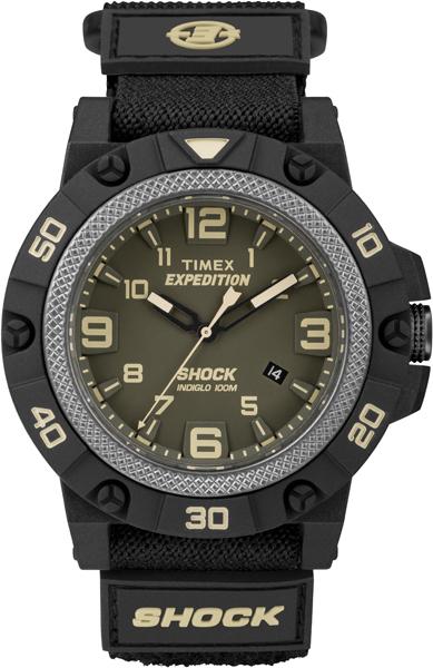Наручные часы мужские Timex, цвет: зеленый, черный. TW4B00900 все цены