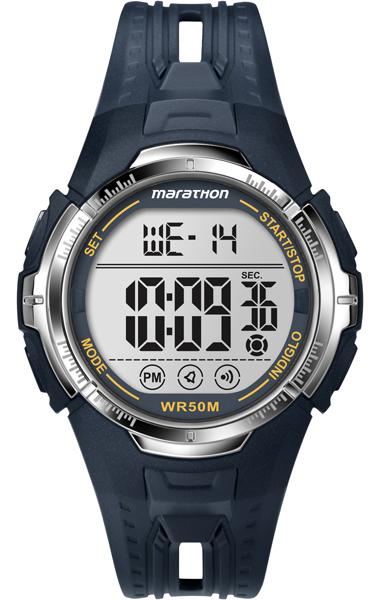лучшая цена Наручные часы мужские Timex, цвет: серый, синий. T5K804
