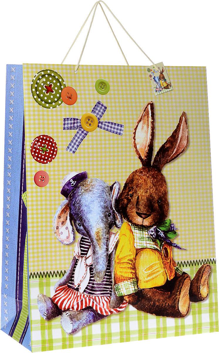 Пакет подарочный Феникс-Презент Любимые игрушки, 48,3 х 17,8 х 63 см пакет подарочный феникс презент клетка 40 6 х 19 х 48 9 см