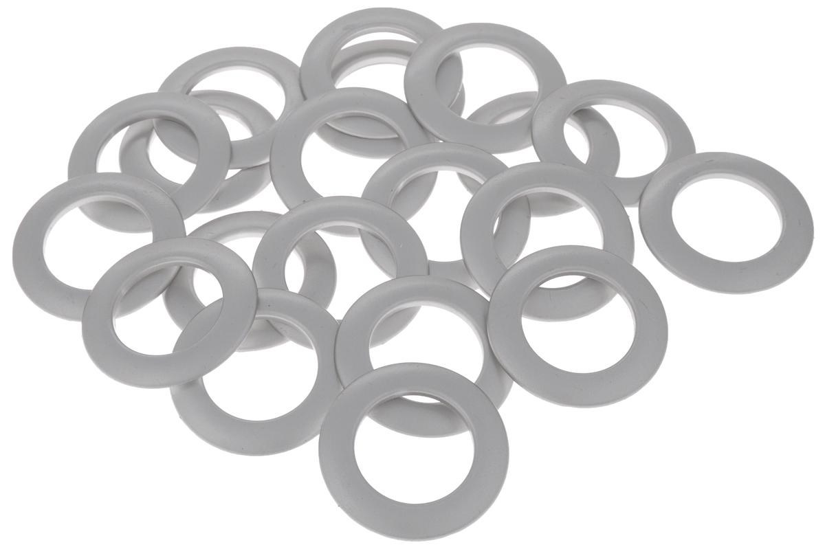 Набор люверсов Belladonna, цвет: матовое серебро, диаметр 35 мм, 10 шт бюстгальтер patti belladonna белый 80c ru