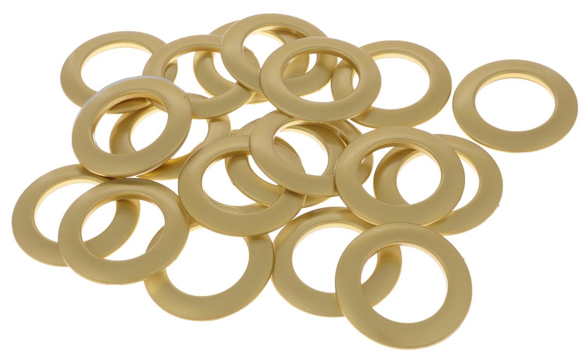 Набор люверсов Belladonna, цвет: матовое золото, диаметр 35 мм, 10 шт бюстгальтер patti belladonna белый 80c ru