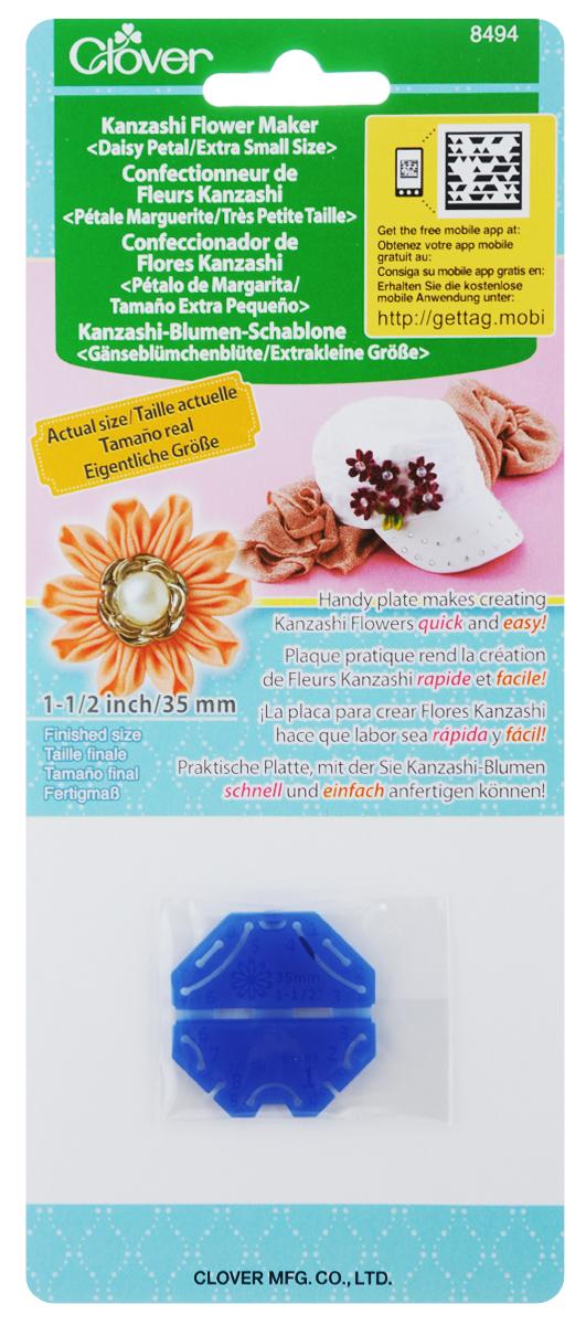 Шаблон для изготовления декоративных цветов Clover Маргаритка, 3,5 х 3,5 см цветы канзаши