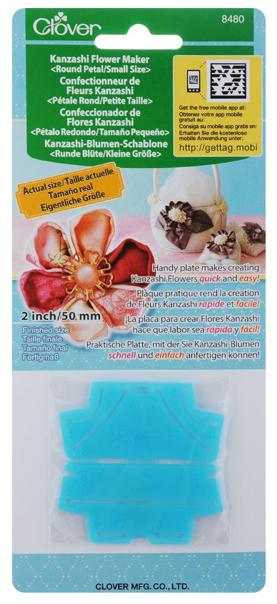 Шаблон для изготовления декоративных цветов Clover Круглые лепестки, 6 х 6 см цветы канзаши