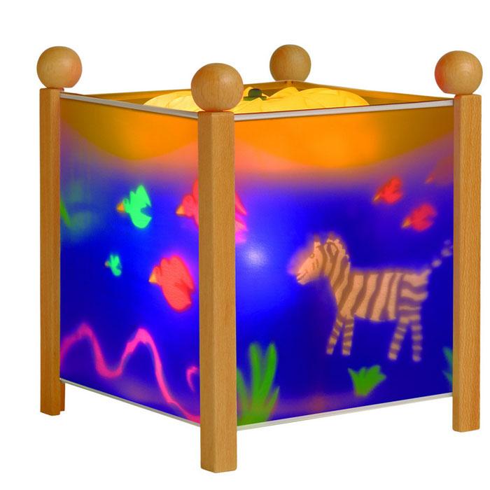 цены на Trousselier Светильник-ночник Magic Lantern Jungle цвет натуральный  в интернет-магазинах