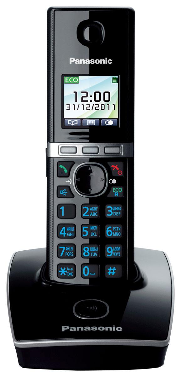 Радиотелефон Panasonic KX-TG8051 RUB телефон dect gigaset l410 устройство громкой связи