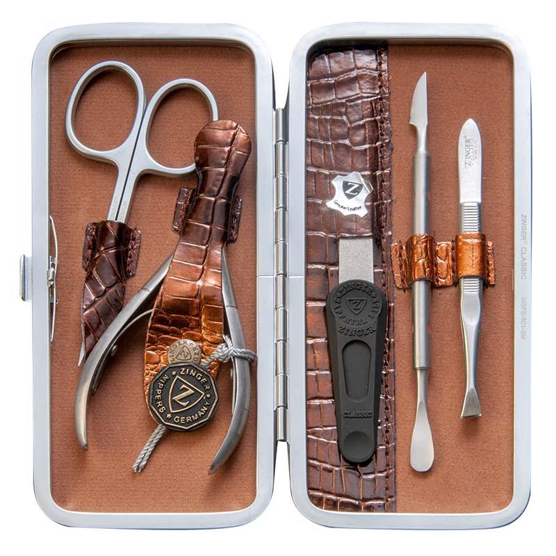 Zinger Маникюрный набор профессиональный (5 предметов) zMSFE 501-SM