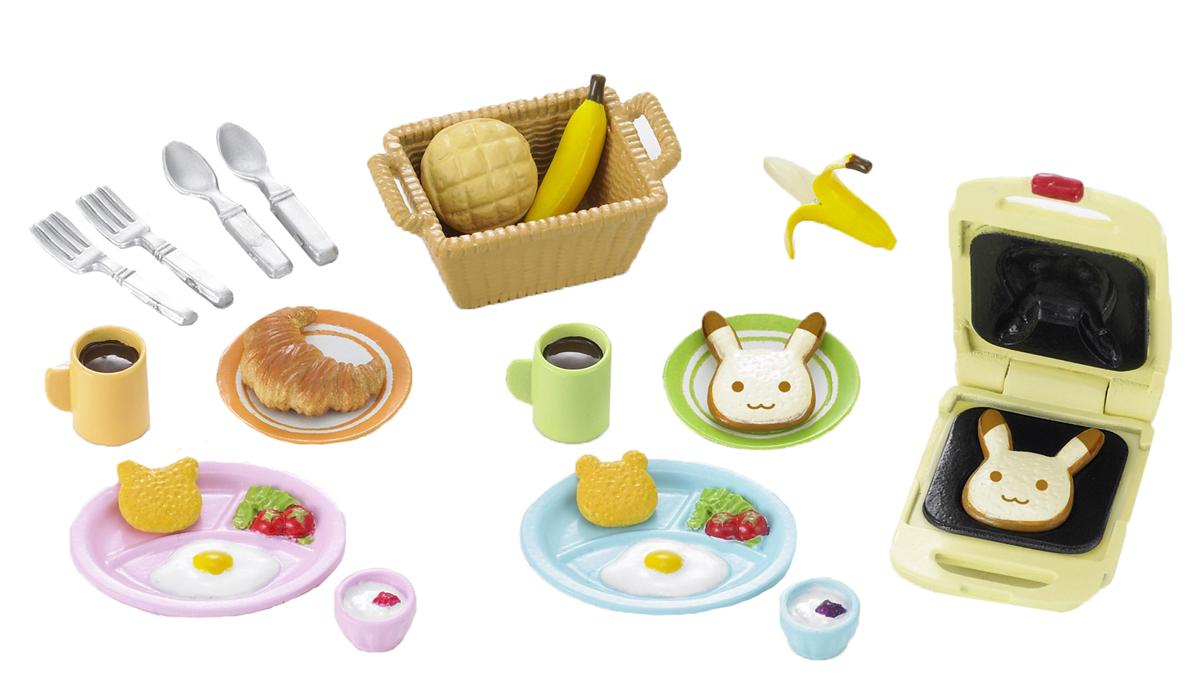 Sylvanian Families Игровой набор Завтрак 22 предмета