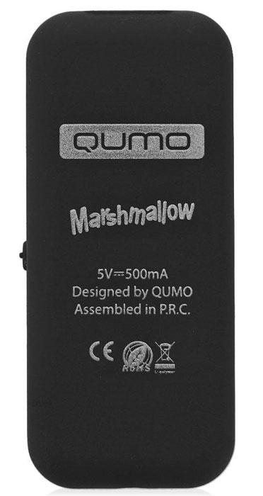 MP3плеер Qumo Marshmallow 4Gb, Black QUMO