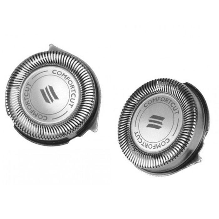 Philips RQ32/30 бритвенные головки для бритв серии YS (YS521,YS534), 2 шт бритвенные головки philips sh50 50 3 шт