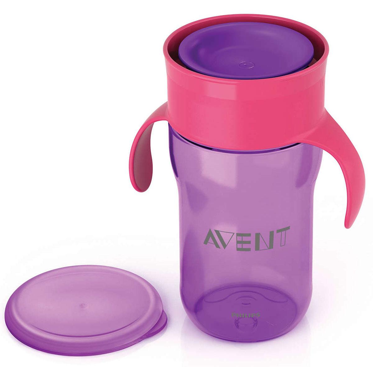 Philips Avent Взрослая чашка, 340 мл, 18м+, 1 шт фиолетовый SCF784/00 авент кружка поильник взрослая чашка разноцветная 340мл арт 83480 scf784 00