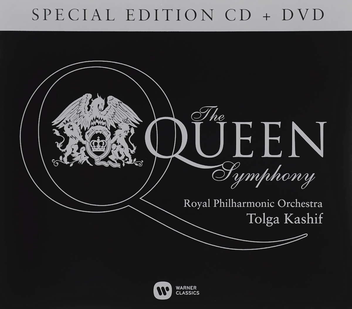 Фото - Толга Кашиф,The Royal Philharmonic Orchestra Tolga Kashif. The Queen Symphony. Special Edition (CD + DVD) six tudor queens jane seymour the haunter queen