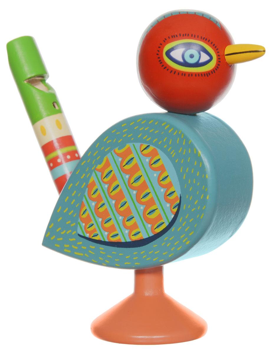 Djeco Музыкальный инструмент Свистулька детский музыкальный инструмент djeco металлофон кот 06002