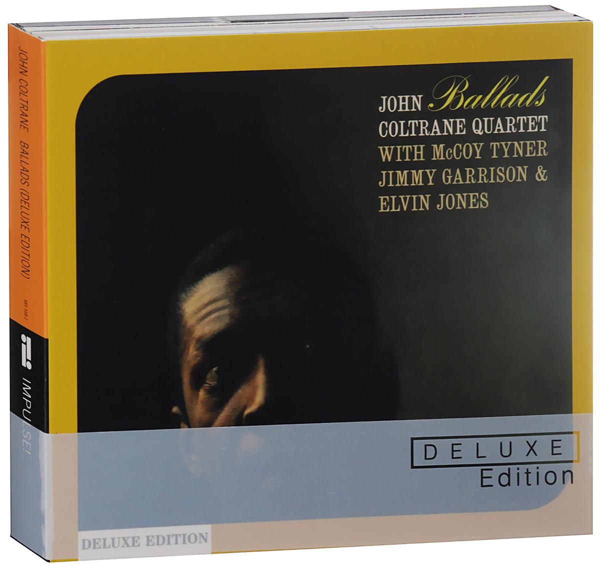 Джон Колтрейн John Coltrane. Ballads. Deluxe Edition (2 CD) джон колтрейн john coltrane giant steps the best of the early years 10 cd