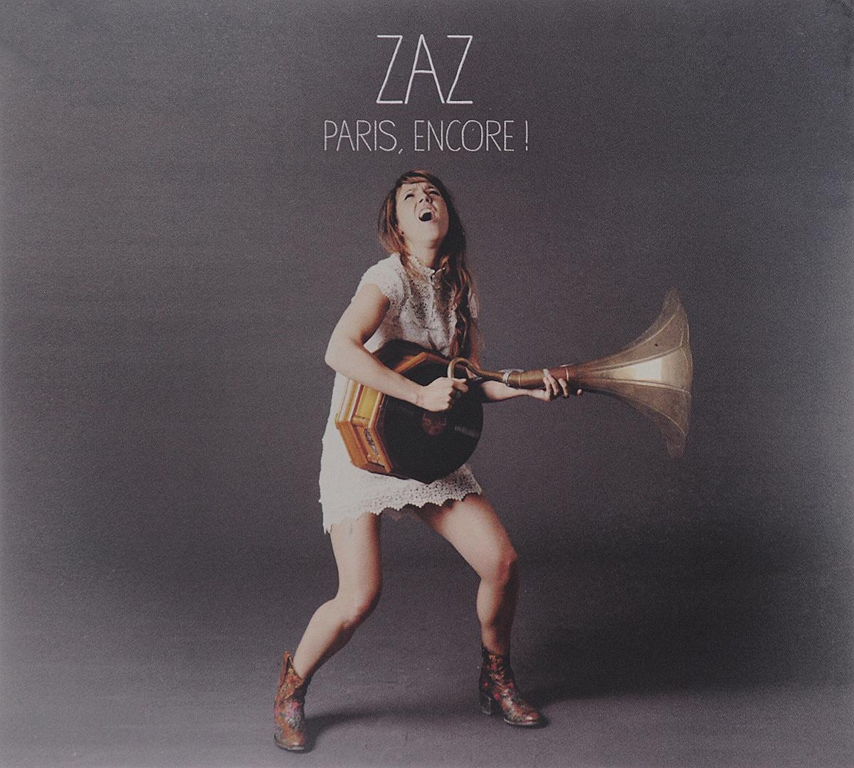 Фото - Zaz Zaz. Paris, Encore! (CD + DVD) zaz zaz paris encore cd dvd