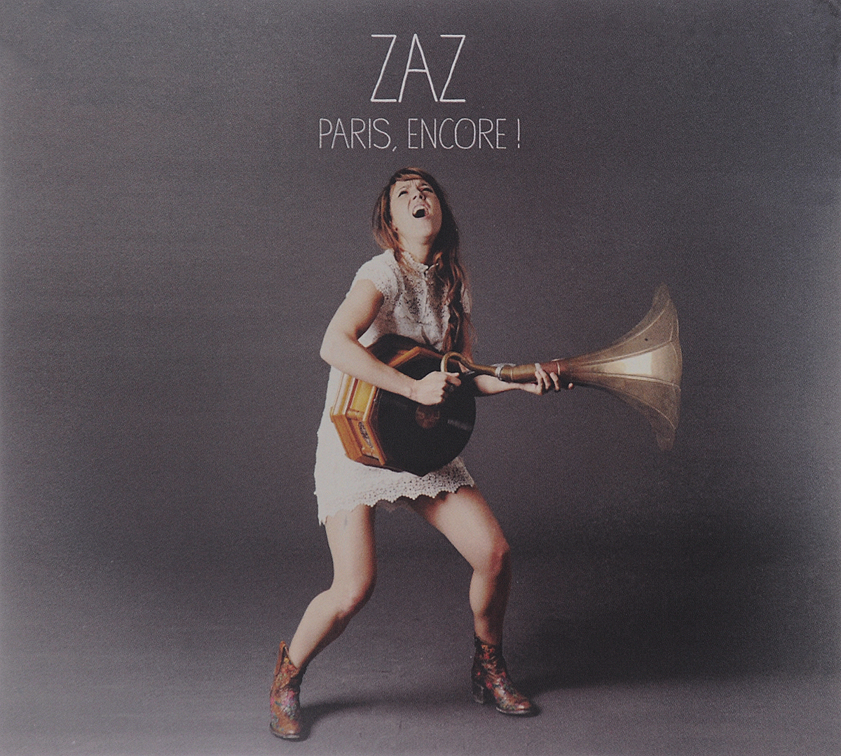 Zaz Zaz. Paris, Encore! (CD + DVD) zaz zaz paris 2 lp