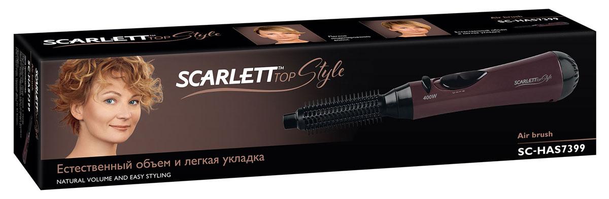 Фен-щетка Scarlett Top Style SC-HAS7399, Mocha Black Scarlett