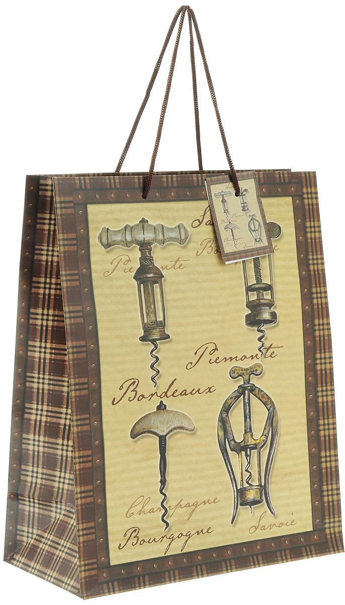 Пакет подарочный Феникс-Презент Штопоры, 26 х 32,4 х 12,7 см пакет подарочный феникс презент каток 26 х 33 х 13 см