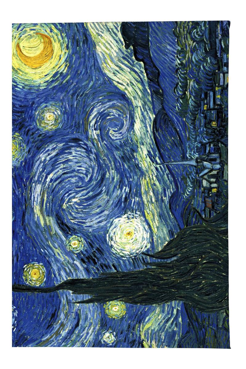 Обложка для автодокументов Mitya Veselkov Ван Гог Звездная ночь, цвет: синий. AUTOZAM002 обложка для автодокументов женская mitya veselkov щас спою цвет белый auto389
