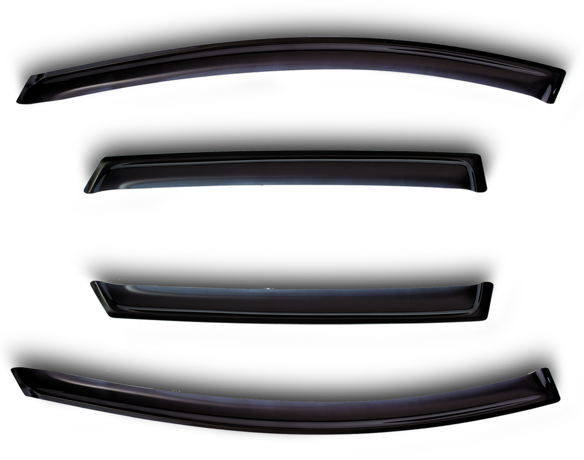 Дефлекторы окон Sim, для 4 door Lend Rover Range Rover Sport 2005-2013. Темный ветровик sim дефлекторы боковых окон land rover range rover sport 2013 4шт темные
