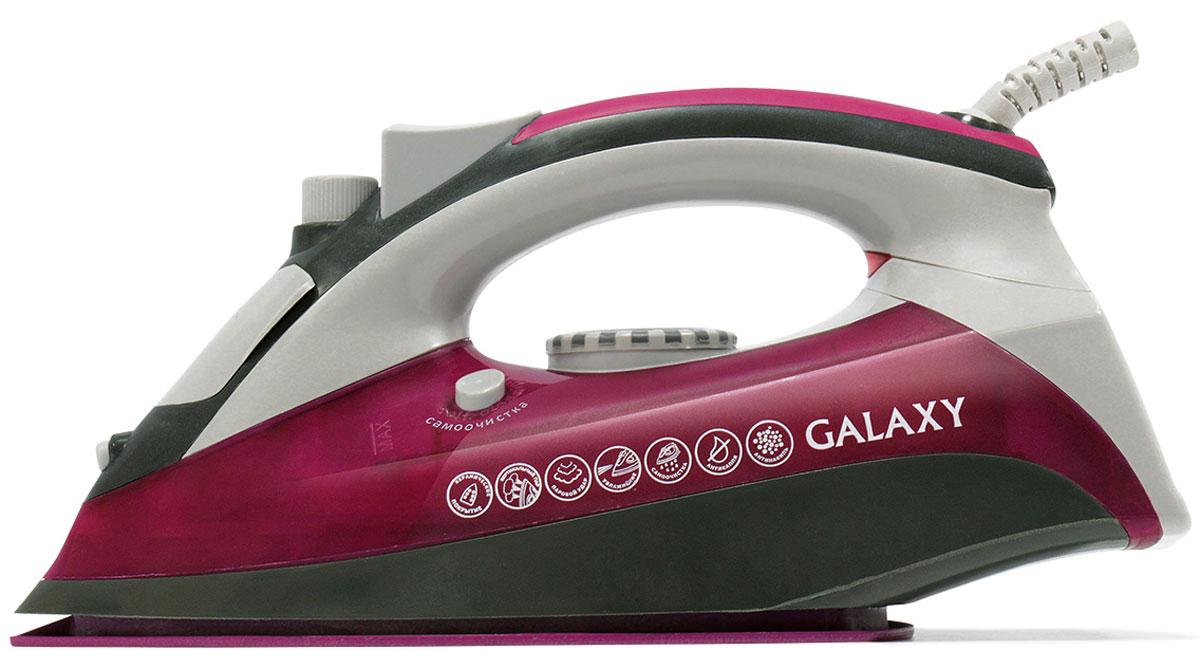 Утюг Galaxy GL 6120 galaxy gl 4922 blue pink насадки к наборам для педикюра