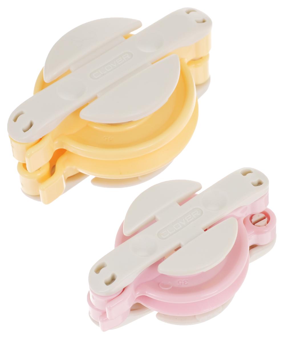 Набор для изготовления помпонов Clover, 2 шт набор форм для запекания home queen диаметр 18 5 см 3 шт