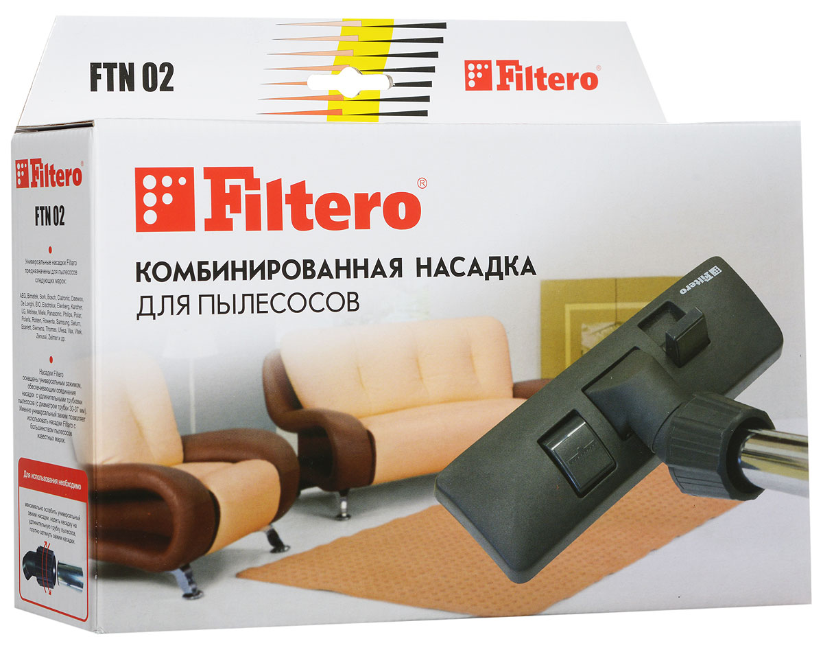 Filtero FTN 02 насадка для пылесоса цена 2017
