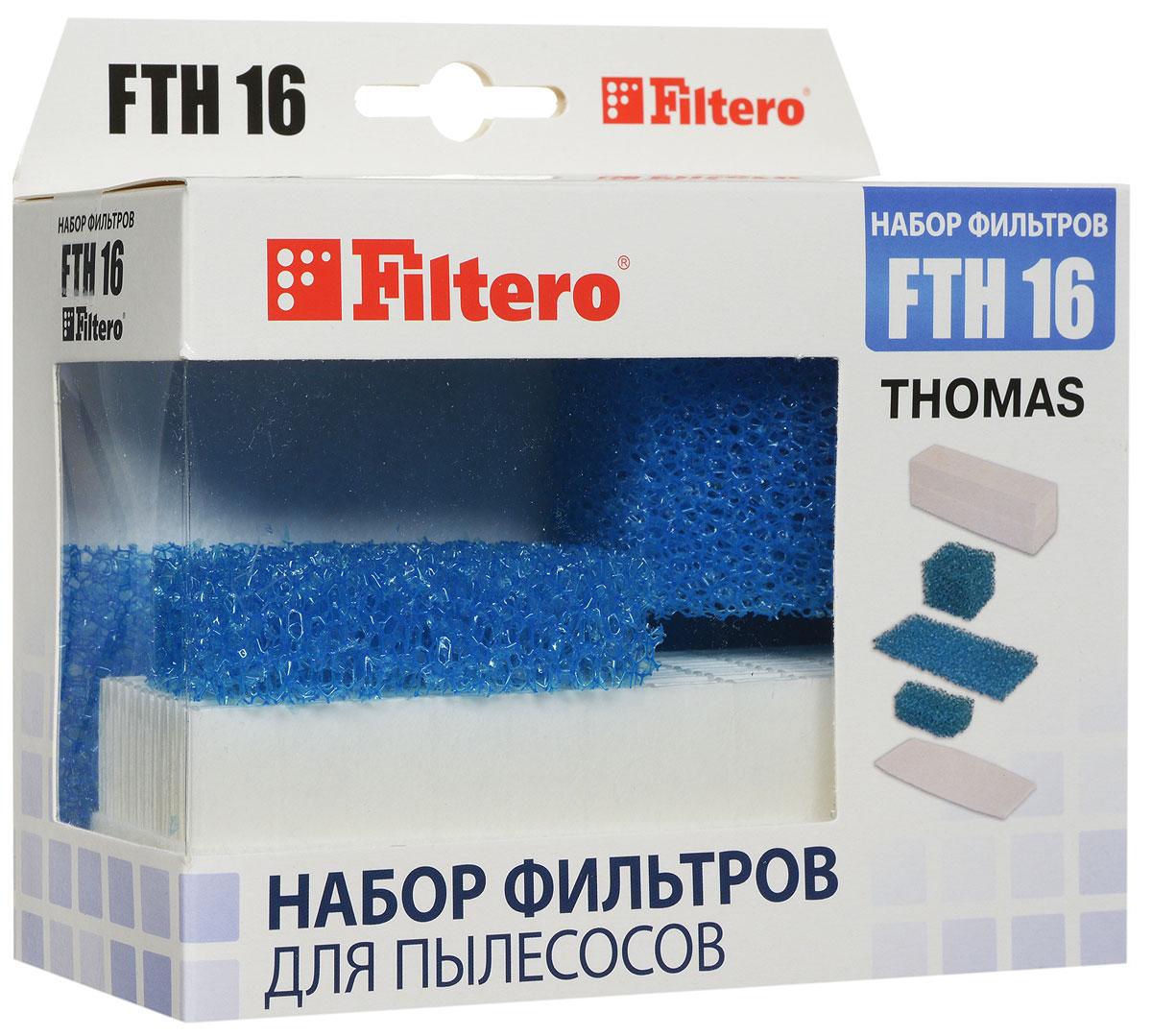 Filtero FTH 16 TMS HEPA-фильтр для Thomas стоимость