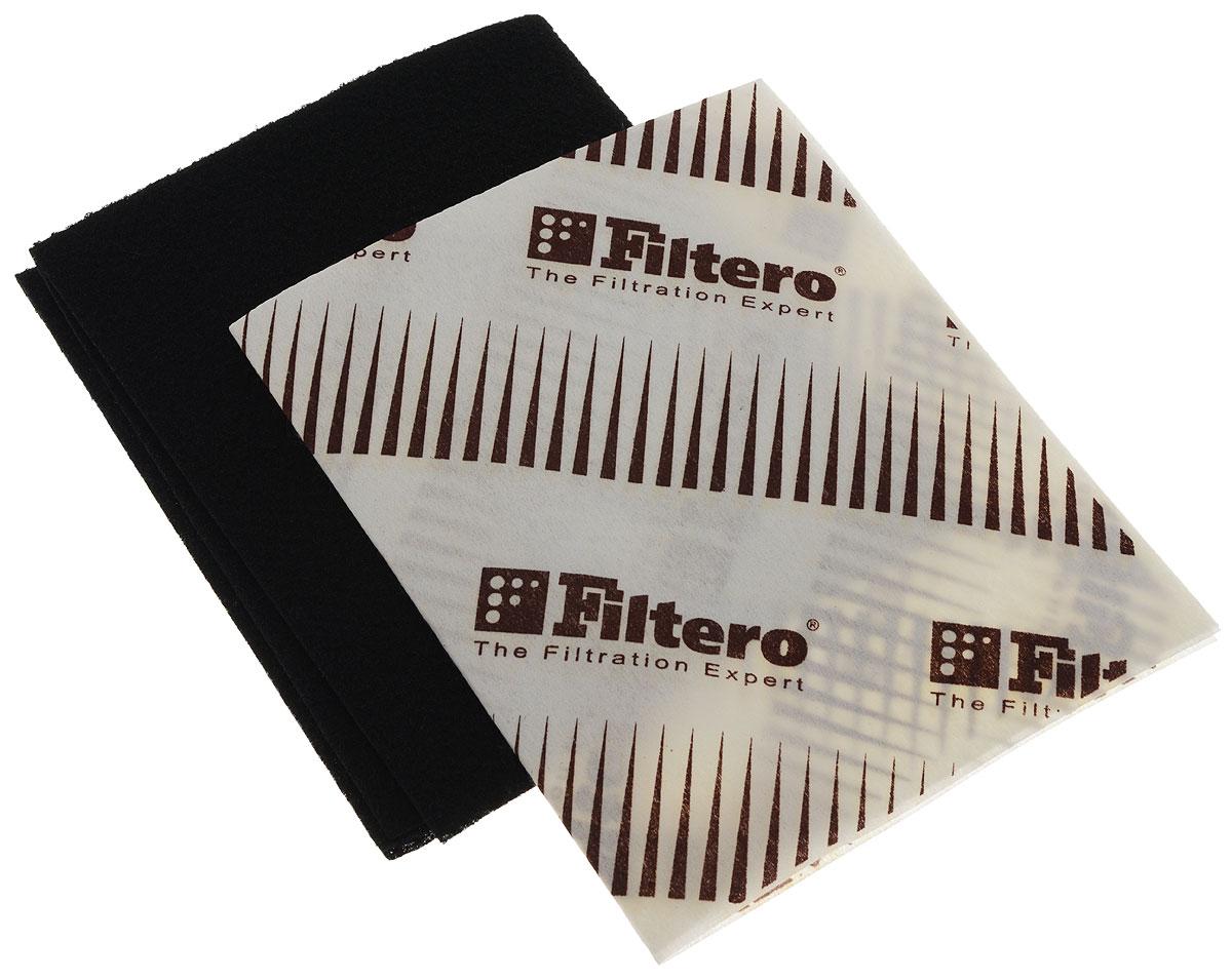 Универсальный комбинированный фильтр Filtero FTR 04 для вытяжки вытяжки для кухни лучшие